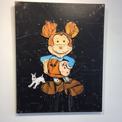 ERIC LIOT - expo galerie MARTINE EHMER -  Bruxelles - Créabeng